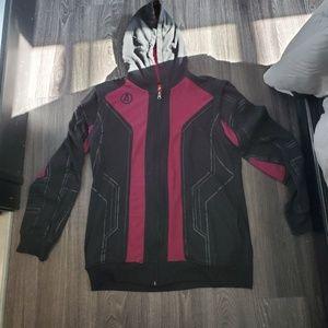 Avengers lightweight zip up hoodie